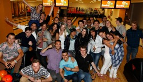 Weekly drunken bowling nights are very popular at The MadHouse Prague Hostel