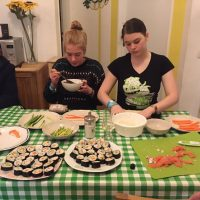 Sushi chefs extraordinaire